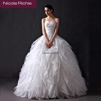 Cii Bride wedding dress new winter fashion bra qi floor length waist slimmer women plus size pregnant wedding gown princess