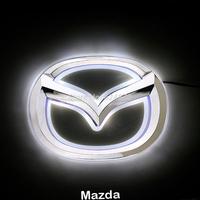 LED Car Tail Logo White light for Mazda 6 Auto Badge Light