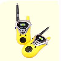 Feitong 2014 new arrivel 2Pcs Walkie Talkie Kids Electronic Toys Portable Two-Way Radio Set Free shipping&Wholesale