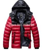men's sports coat thick winter coat male Korean fashion padded jacket coat weatherization Free Shipping