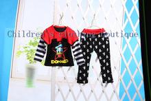 2014 Hot sale cotton sport clothing for children children's clothing baby boy girls boys suits 2 pcs/set suits  Children Set(China (Mainland))