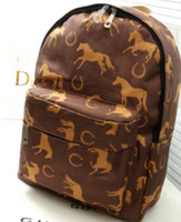 Free shipping the new tide of new travel backpack backpack female  bag male high school students