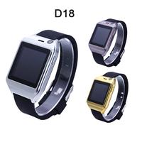 D18 Smartwatch Bluetooth Smart Watch Android Fitness Tracker Pedometer Camera SIM Card Micro SD Card Smart Bracelet