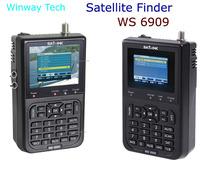 "3.5"" USB WS-6906 Digital LCD Satellite Finder DVB-S FTA satellite Meter Sat-Link"