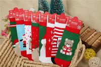 6pairs/lot 2014 new christmas socks children socks for 0-5 years baby socks