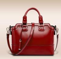 2014 new winter fashion ladies leather handbag shoulder diagonal package influx of women