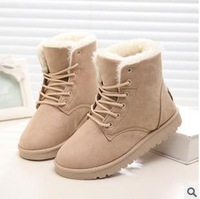 best selling 2014 winter female boots short tube explosion leather graffiti boots
