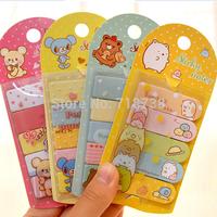 (1 Lot=8 Different Set) DIY Scrapbooking Paper Kawaii Animals post it Stickers Notepads Diary Cartoon Memo Pads Sticky Notes Set