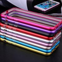 Aluminum Bumper For iphone 6 plus 5.5 inch bumper Luxury Space aluminum No Screw Metal buckle phone bumper