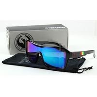 Fashion Ken Block Original Dragon Sport Reflective Coating JAM Remix Mens Lentes Sunglasses Oculos De Sol With Original Box