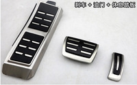 Free shipping Macan 2014 aluminum alloy gas pedal break pedal accelerator pedal for Macan 2014