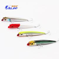 9.5cm 11.5cm Slender Popper Lure Popper Baits Fishing Lure With VMC Hooks Hard Baits