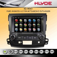 """OUTLANDER 2006-2012 Android 4.2 Car DVD GPS IPOD BT Aux in Steering wheel 2 Core 1.6GHz 1G DDR3 8G Flash 8"""" Screen"""
