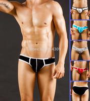 5PCS Hot Mens Sexy Underwear Modal Briefs Low Rise Enhance Pouch Brief Comfy Soft Tanga Male Underpants Bottoms Shorts S M L