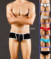 5PCS Hot Modal Mens Sexy Boxers Underwear Boxer Underwear Man Boys Trunks Low Rise Pouch Shorts Bottoms S M L