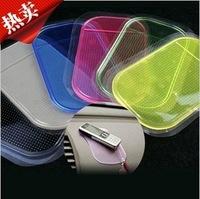 2014 HOT SALE Non Slip Mat for Phone PDA mp3 mp4 Car Accessories Multicolor Powerful Silica Gel Magic Sticky Pad Anti Slip
