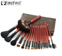 High quality 21 pcs Pro Artist pinceis women brushes professional wool pincel maquiagem set free shipping(China (Mainland))