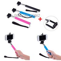Extendable Handheld Selfie Stick Monopod Mount Holder For iPhone Samsung Camera