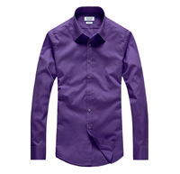 2015 New Roupas Masculinas Men's Long Sleeve Shirt, Cultivate One's Morality Dress Shirt Business Workplace Occupational Sm3-4