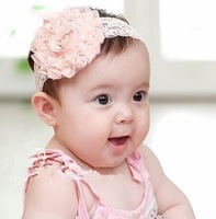 Top Sell baby hair accessories headband headwear children hair ornament girl headbands hair band Flower Infant FD007