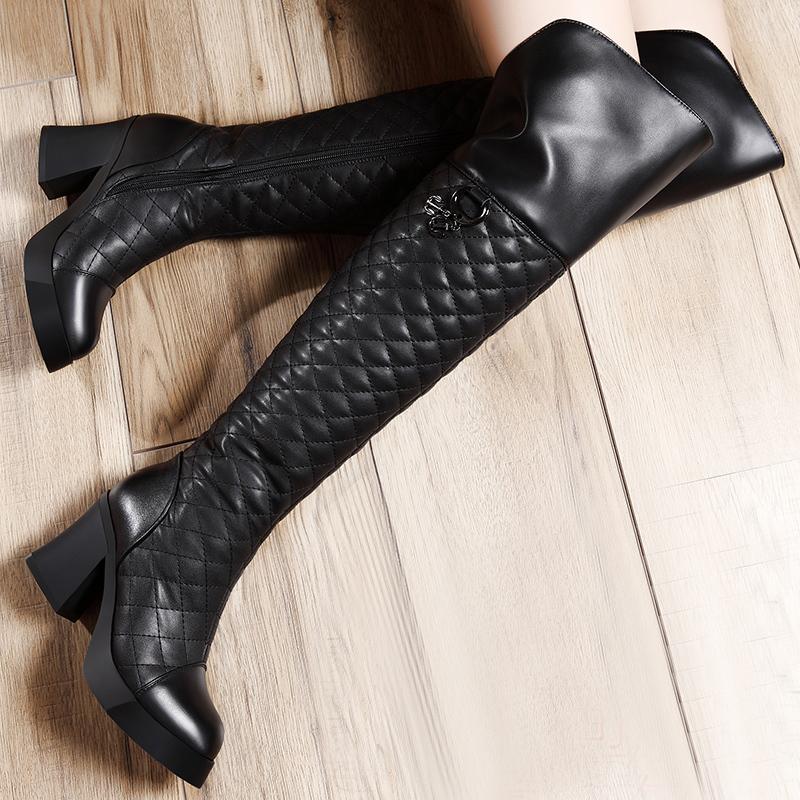 ramon moolecole 2014 novo inverno estilo 8888-1 overknee botas mulheres negras bombas frete grátis laço tecido respirável sandálias(China (Mainland))