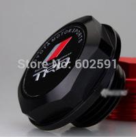 Car Styling Accessorie Aluminium Oil cap Fuel Tank Cap Cover Black TRD Fit For Most TOYOTA Model