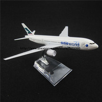 16cm Alloy Metal HongKong Air Cathay Pacific One World Airlines Boeing 777 B777 Airways Airplane Model Plane Model W Stand Toy