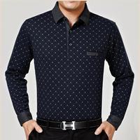Promotion men's leisure Long sleeve T-shirt,Elegant long sleeve shirts,Men's clothing,free shipping.OKC009