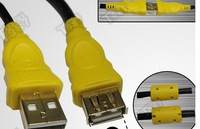 New Usb 2.0 data extension cable For the usb flash drive card reader keyboard webcam mouse usb lengthen line cords 1.5m