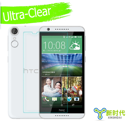 New Arrival Ultra Clear HD Screen Protector Film For HTC Desire 820 Android phone 5 5