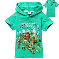 2014 hot sale Teenage Mutant Ninja Turtles hoodies children Sweatshirts kids clothing christmas gift 8835