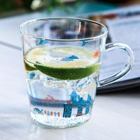 zakka grocery single layer glass cup  mugs
