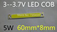 Led cob lamp slitless plate lamp high bright led lighting 3v surface light source rectangle 3v lithium battery lights plate DIY