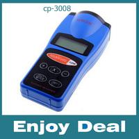 CP-3008 handheld LCD Ultrasonic Distance Measurer 60 FT, Laser Pointer Designator, electronic Measuring tape,Digital rangefinder
