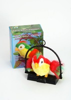2014 the latest version of the toy talking parrot Digi Birds Pets sing whistle Intelligent music electric bird toys