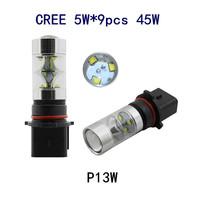 2015 new products free shipping P13W CREE 45W LED fog light headlamp for mazda CX-5 Toyota Highlander Volkswagen Magotan Sagitar