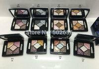Sell like hot ! new arrive 5  Colors Eye Shadow Palette (8pcs/lot)