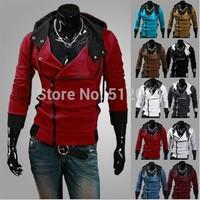 M-6XL size Hot Classic Men's Hoodies Fashion Uprising Men's with a hood Sweatshirt Men Outerwear Cardigan Casual Slim Sweatshirt