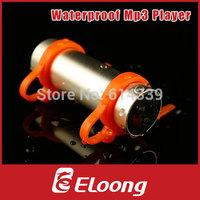 Eloong 4GB Swimming Diving Water IP*8 Waterproof MP3 Player FM Radio Earphone P071