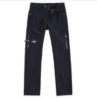 men's pants Waterproof and windproof fleece soft shell PANTS MENS outdoor sports ski pants single climbing pants Free shipping