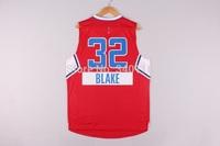 Free Shipping,2014 - 2015 Christmas Edition basketball jersey #32 Blake Griffin Christmas basketball jersey