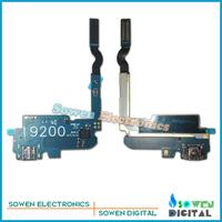for Samsung GALAXY Mega 6.3 i9200 charger port USB Flex with Mic charging port dock connector complete,Original,10pcs/lot