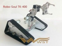 Robo-Soul TK-400 crawler robot / mechanical arm with 4 degrees of freedom