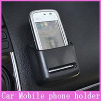 1x Universal Car Organizer Box Car Multi-function Mobile Phone Holder Navigation Frame Storage Pockets Automotive Bag