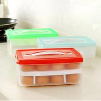 "Bangor Portable Double-deck Plastic Egg Storage Box 8.8""x6.3""x4.1"""