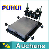 300x240mm PUHUI SMT manual stencil printer, solder paste printer,T-shirt screen printing machine