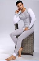 Manview modal underwear tight basic underwear set fashion color Modal bottoming tight pajamas sets long johns
