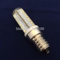50Pcs/lot 2015 Newest led E14 dimmable 7W 220V 3014SMD G9 led bulb Lamps 72Leds Chips Free shippment DHL