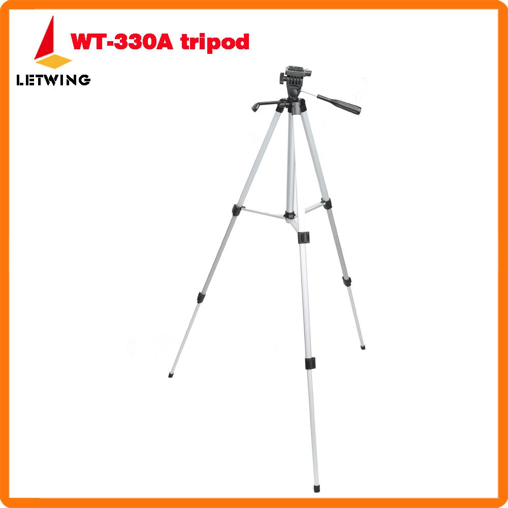 High quality Aluminum WT330A Tripod, Vogue Professional camera Standing/stand Tripod for Canon Nikon Olympus Pentax DV Camera(China (Mainland))