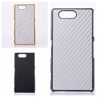 2015 New stylish hard back Case for Z3 Compact Cover For Sony Xperia Z3 Mini Carbon Fiber cases For Sony xperia Z3 Compact